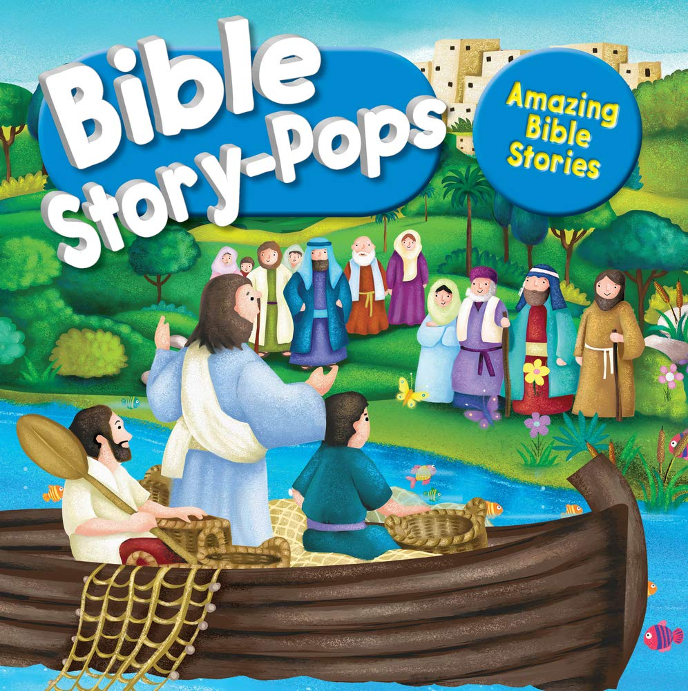 ROCKONLINE | New Creation Church | NCC | Joseph Prince | ROCK Bookshop | ROCK Bookstore | Star Vista | Children | Kids | Toddler | Bible Story Pops, Amazing Bible Stories | Free delivery for Singapore Orders above $50.