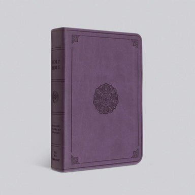 ROCKONLINE | New Creation Church | NCC | Joseph Prince | ROCK Bookshop | ROCK Bookstore | Star Vista | Bibles | Christian Living | ESV Value Large Print Compact Bible, Trutone Lavender with Emblem | Free delivery for Singapore Orders above $50.