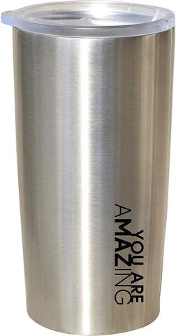 Stainless Steel Travel Mug, No Handle