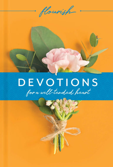 ROCKONLINE | New Creation Church | Joseph Prince | Christian Living | Victorious Living | Devotional | Book | Flourish: Devotions for a Well-Tended Heart | Tyndale | Free Delivery for Singapore Orders above $50.
