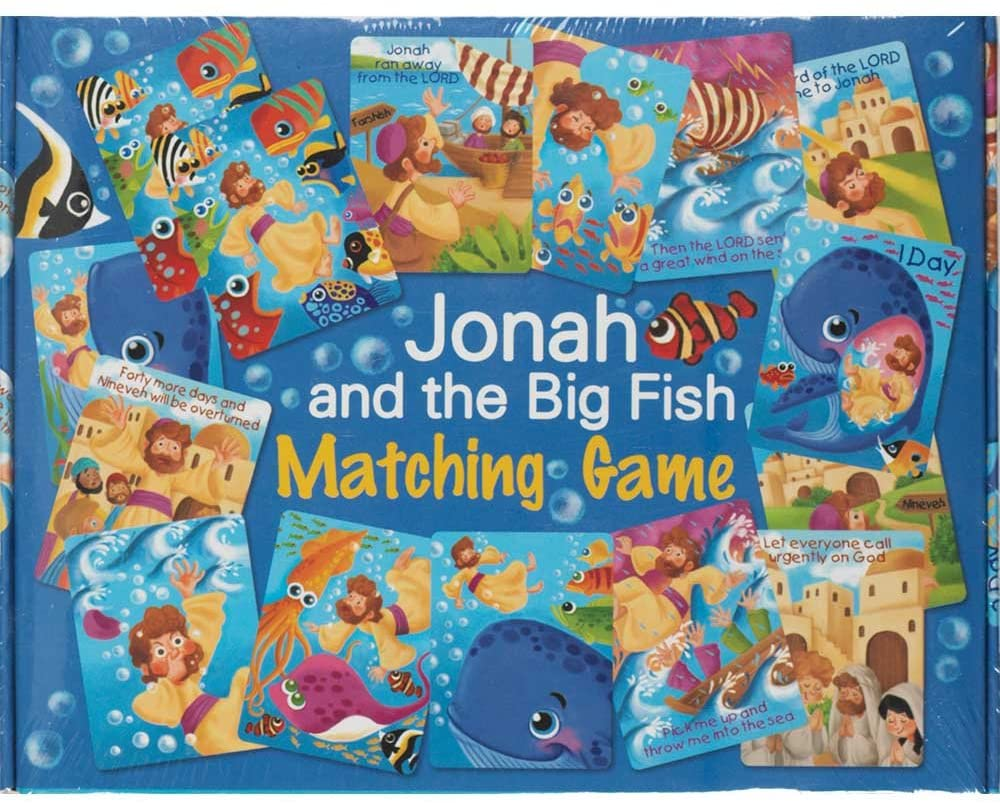 Jonah and the Big Fish Matching Game