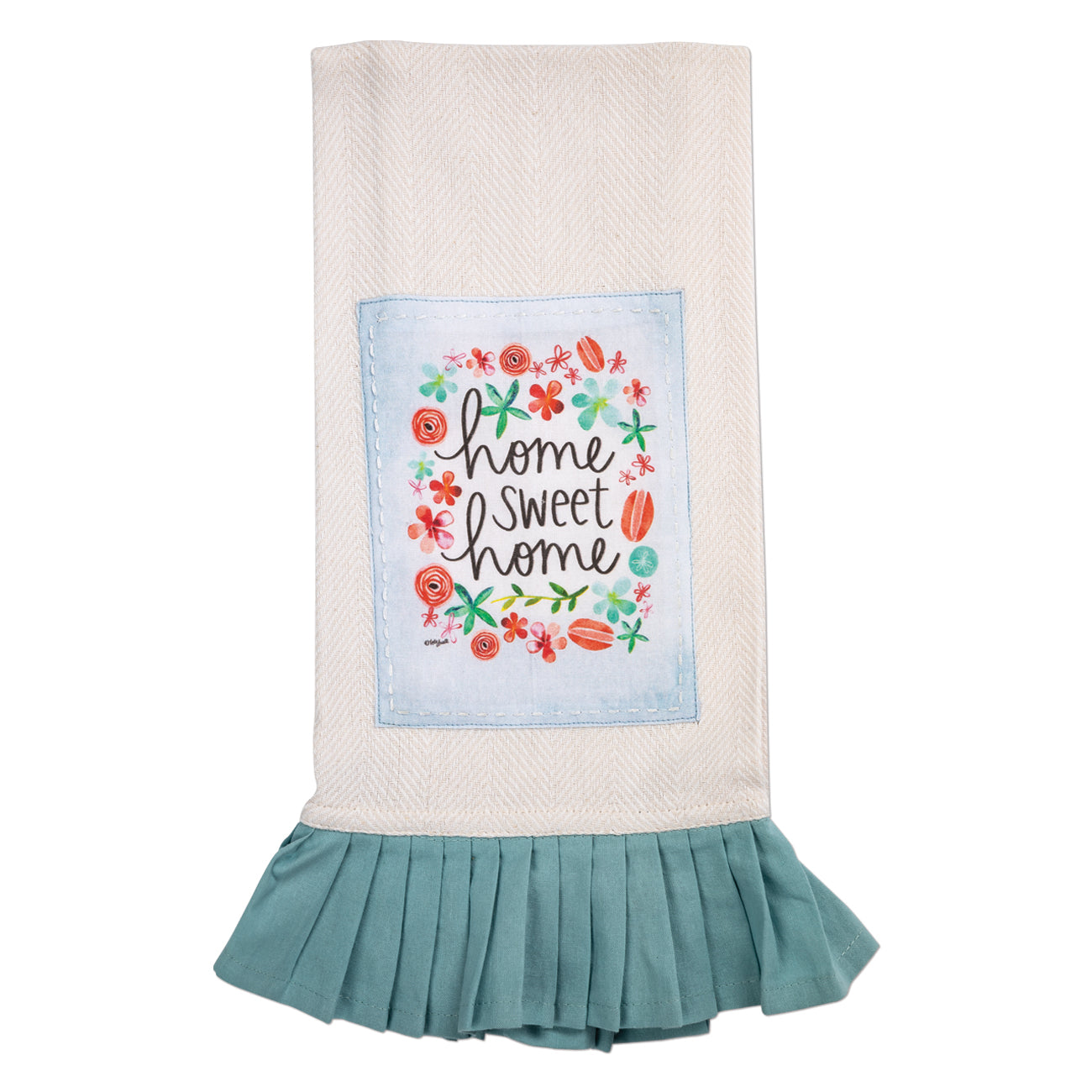 100% Cotton Tea Towel (with skirting)