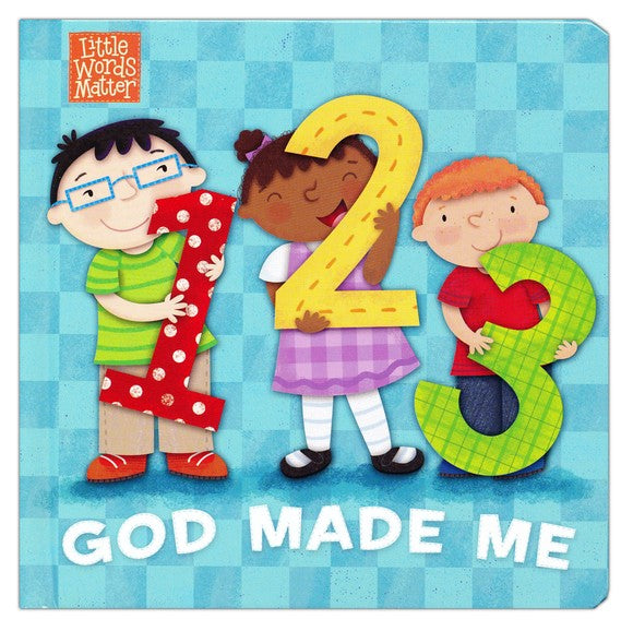 ROCKONLINE | New Creation Church | NCC | Joseph Prince | ROCK Bookshop | ROCK Bookstore | Star Vista | Children | Kids | Toddler | Preschooler | Bible Story | Christian Living | Boardbook | Bible | 1, 2, 3 God Made Me Boardbook | Free delivery for SG orders above $50.