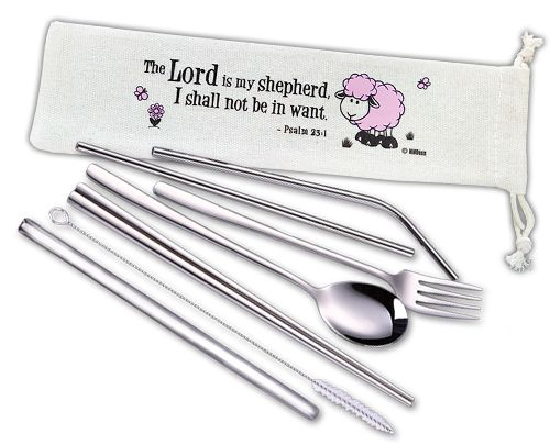 ROCKONLINE | New Creation Church | Joseph Prince | Cutlery Set | Sustainable Living | Christian Art Gifts | Rock Bookshop | Rock Bookstore | Star Vista | Free Delivery for Singapore Orders above $50.