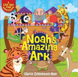 Noah's Amazing Ark : A Lift-the-Flap Adventure (hardcover)