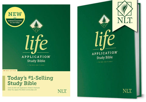 ROCKONLINE | New Creation Church | NCC | Joseph Prince | ROCK Bookshop | ROCK Bookstore | Star Vista | Christian Living | NLT | NLT Life Application Study Bible, Third Edition, Hardcover | Study Bible | Free delivery for Singapore Orders above $50.
