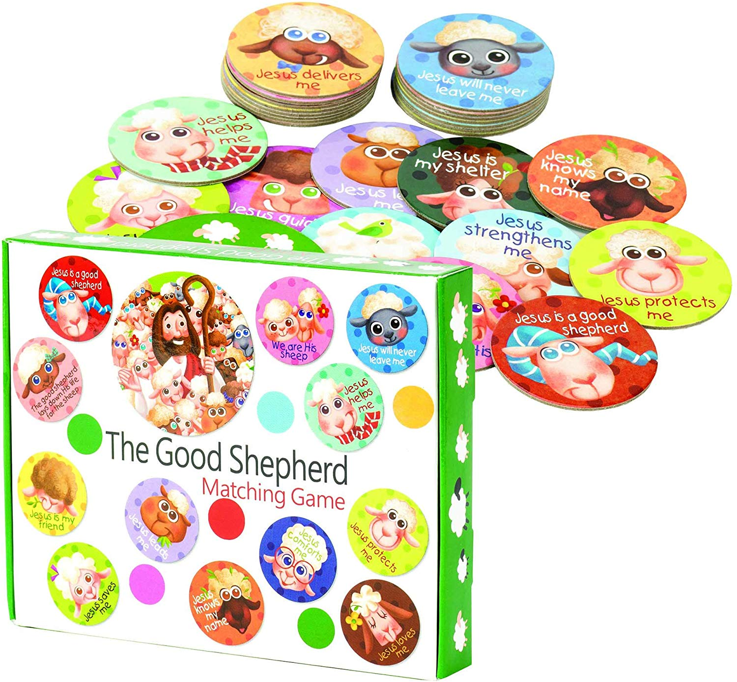 The Good Shepherd Matching Game