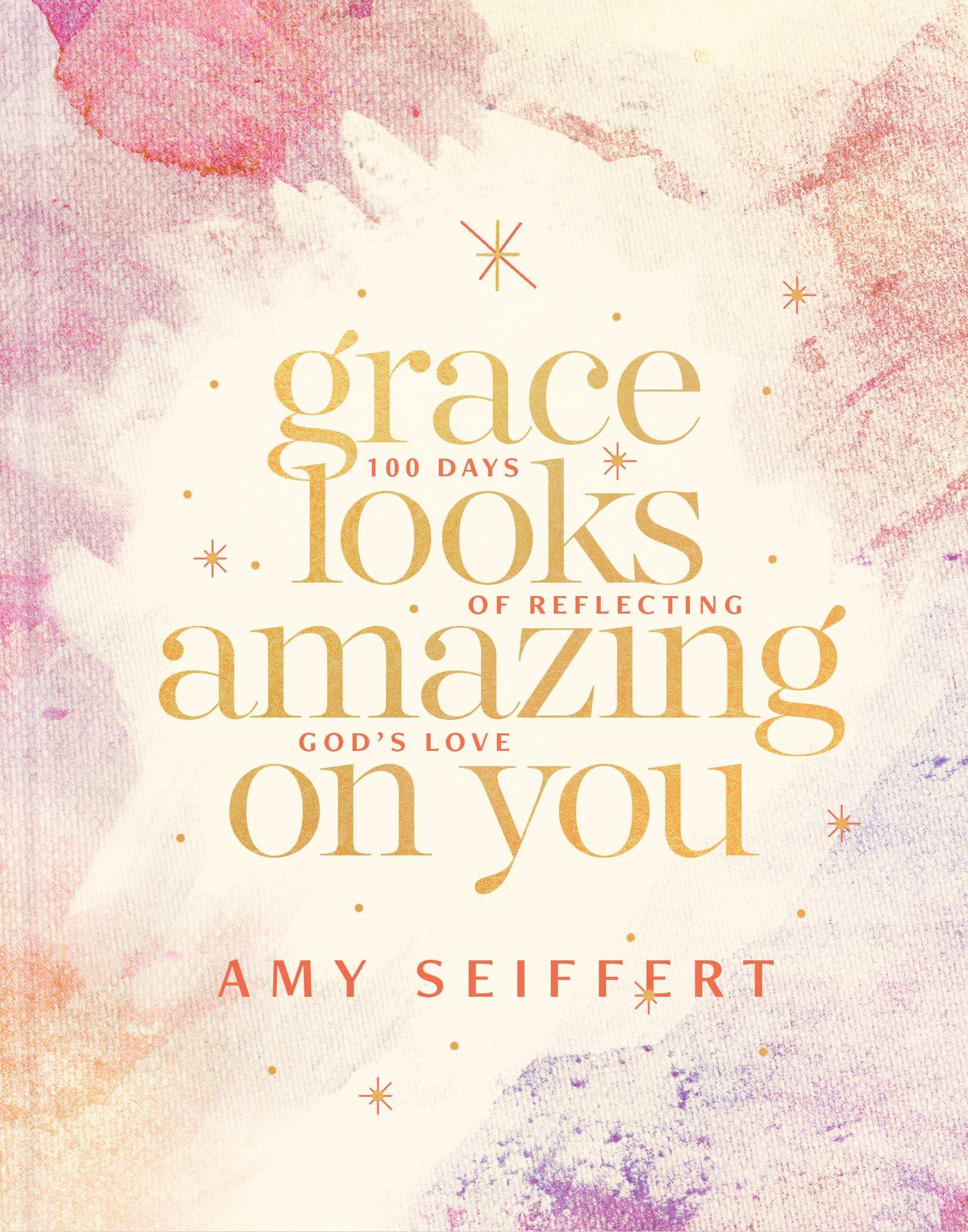 ROCKONLINE | New Creation Church | NCC | Joseph Prince | ROCK Bookshop | ROCK Bookstore | Star Vista | Grace Looks Amazing on You: 100 Days of Reflecting God's Love, Hardcover | Amy Seiffert | Tyndale | Christian Living | Devotional | Women |  Free delivery for Singapore Orders above $50.
