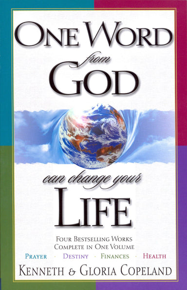 ROCKONLINE | New Creation Church | NCC | One Word from God Can Change Your Life: 4 in One Volume | Kenneth Copeland | Gloria Copeland | Jesse Duplantis | Happy Caldwell | Jerry Savelle | Charles Capps | Joseph Prince | ROCK Bookshop | ROCK Bookstore | Star Vista | Christian Living | Free delivery for Singapore Orders above $50.