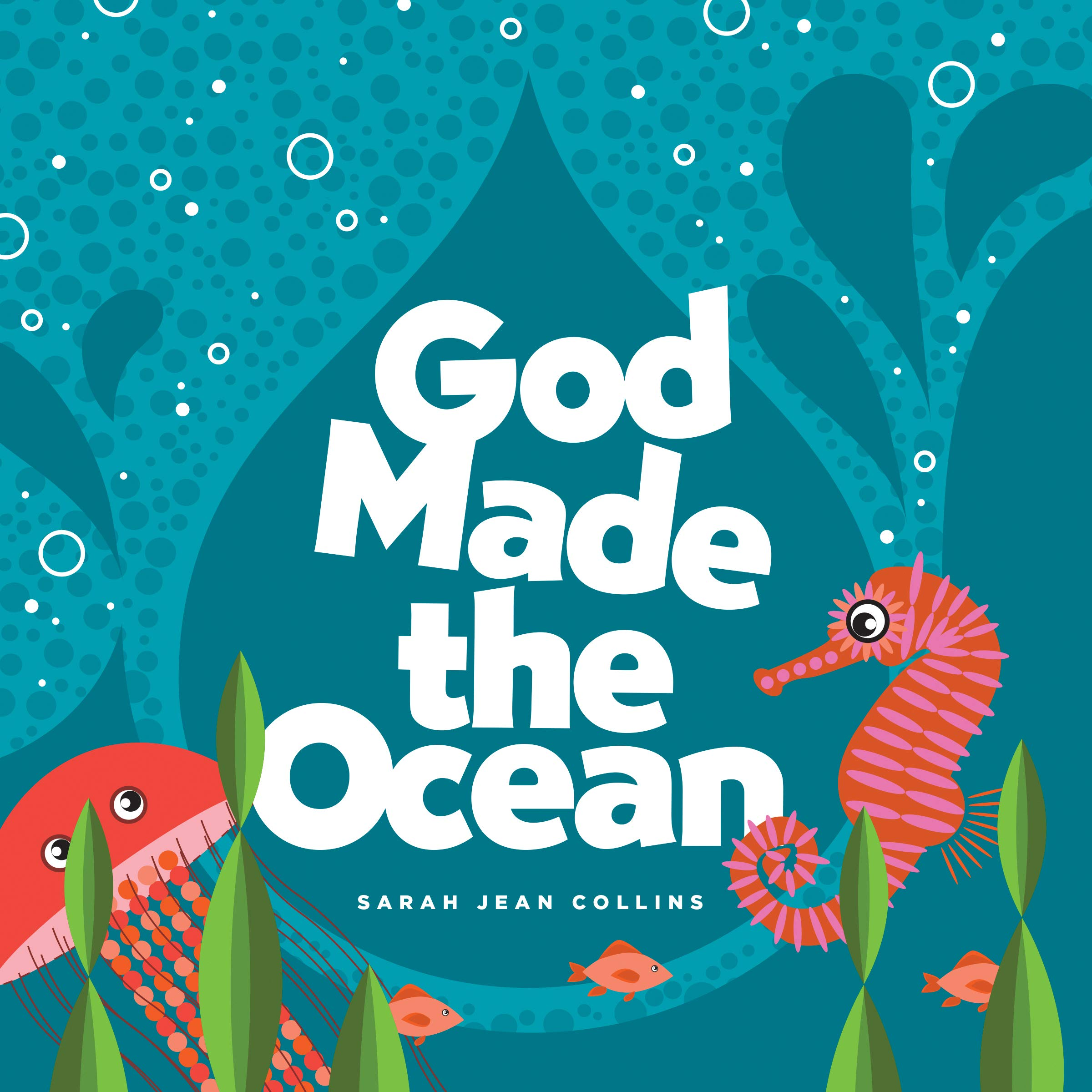 ROCKONLINE | New Creation Church | NCC | Joseph Prince | ROCK Bookshop | ROCK Bookstore | Star Vista | Children | Kids | Toddler | Preschooler | Bible Story | Christian Living | Boardbook | Bible | God Made the Ocean, Boardbook | Tyndale Kids | God Made Series | Free delivery for SG orders above $50.