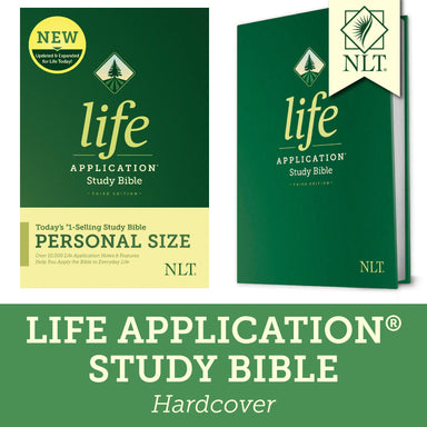 ROCKONLINE | New Creation Church | NCC | Joseph Prince | ROCK Bookshop | ROCK Bookstore | Star Vista | Christian Living | NLT Life Application Study Bible, Third Edition, Personal Size, Hardcover | Study Bible | Free delivery for Singapore Orders above $50.