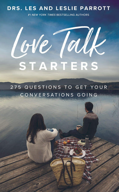 ROCKONLINE | New Creation Church | NCC | Joseph Prince | ROCK Bookshop | ROCK Bookstore | Star Vista | Love Talk Starters: 275 Questions to Get Your Conversations Going | Love | Relationship | Family Relationship | Marriage | Dr. Les Parrott | Dr. Leslie Parrott | Free delivery for Singapore Orders above $50.