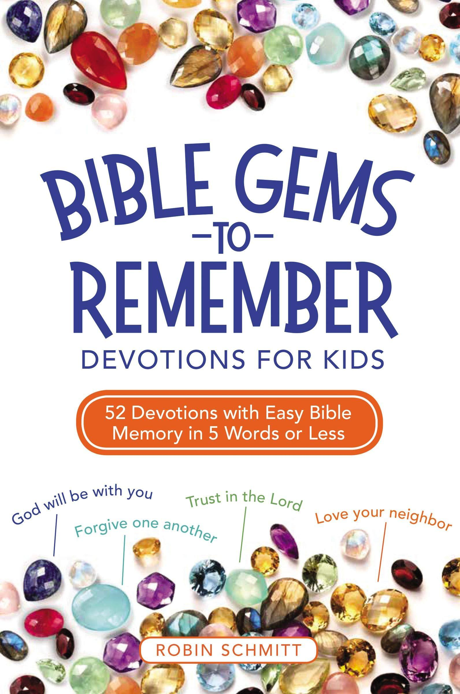 ROCKONLINE | New Creation Church | NCC | Joseph Prince | ROCK Bookshop | ROCK Bookstore | Star Vista | Christian | Children | Bible | Devotion | Bible Gems to Remember Devotions for Kids | Free Delivery for Singapore Orders above $50.