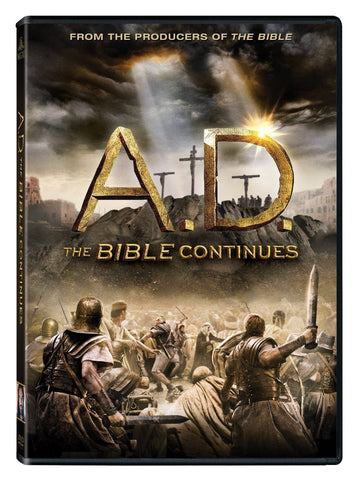 ROCKONLINE | New Creation Church | NCC | Joseph Prince | ROCK Bookshop | ROCK Bookstore | Star Vista | DVD | Bible | Christian Movie | A.D. The Bible Continues (DVD) | Free delivery for Singapore orders above $50.