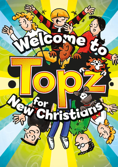 ROCKONLINE | New Creation Church | NCC | Joseph Prince | ROCK Bookshop | ROCK Bookstore | Star Vista | Children | Kids | Bible Activities | Christian Living | Puzzle | Bible | Welcome to TOPZ for New Christians | Free delivery for SG orders above $50.