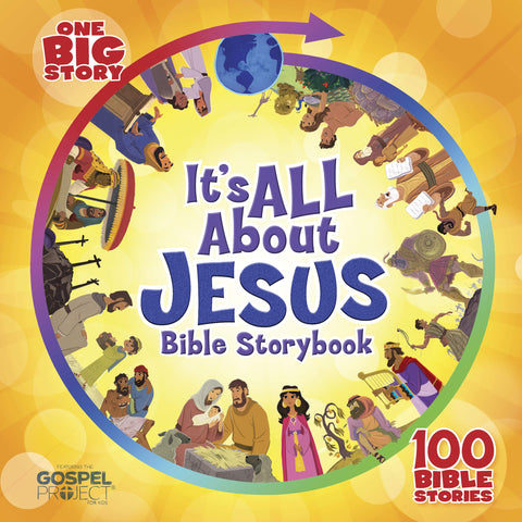 ROCKONLINE | New Creation Church | NCC | Joseph Prince | ROCK Bookshop | ROCK Bookstore | Star Vista | Children | Kids | Preschooler | Bible Story | Christian Living | Boardbook | Bible | It's All About Jesus Bible Storybook: 100 Bible Stories | Free delivery for Singapore orders above $50.