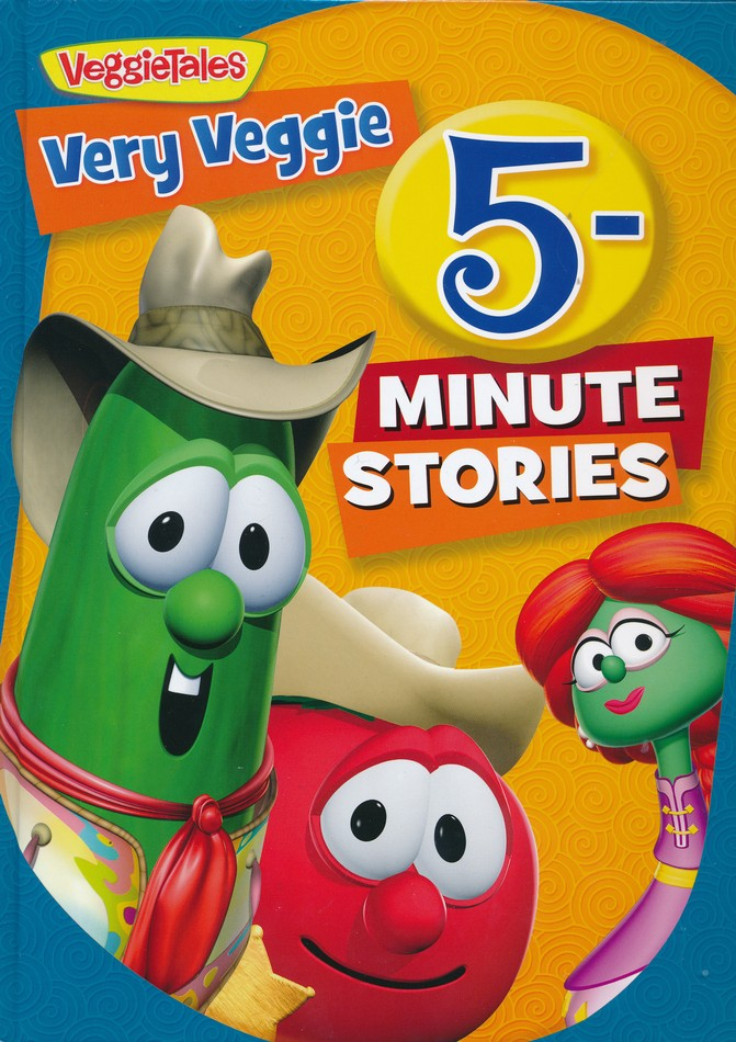 ROCKONLINE | New Creation Church | NCC | Joseph Prince | ROCK Bookshop | ROCK Bookstore | Star Vista | Children | Kids | Preschooler | Veggietales | God's Love | Bible Stories | Christian Living | Bible | Very Veggie 5-Minute Stories | Free delivery for Singapore Orders above $50.