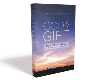 ROCKONLINE | New Creation Church | NCC | Joseph Prince | ROCK Bookshop | ROCK Bookstore | Star Vista | NIV God's Gift New Testament with Psalms and Proverbs, Pocket-Sized | Zondervan | Free delivery for Singapore Orders above $50.