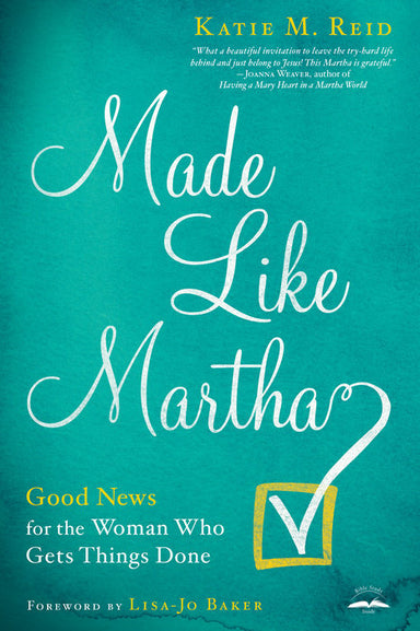 ROCKONLINE | New Creation Church | NCC | Joseph Prince | ROCK Bookshop | ROCK Bookstore | Star Vista | Made Like Martha | Katie M Reid | Free delivery for Singapore Orders above $50.