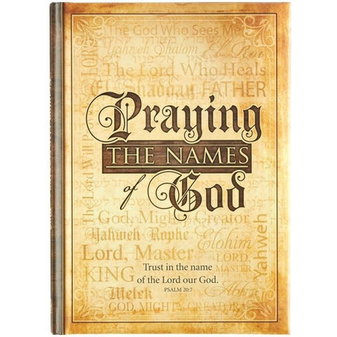 Praying the Names of God (Hardcover)