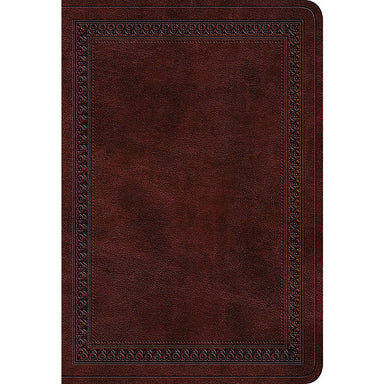 ROCKONLINE | New Creation Church | NCC | Joseph Prince | ROCK Bookshop | ROCK Bookstore | Star Vista | ESV | Compact Bible | ESV Large Print Compact Bible | TruTone Mahogany/Border Design | Free delivery for Singapore Orders above $50.
