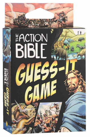 ROCKONLINE | New Creation Church | NCC | Joseph Prince | ROCK Bookshop | ROCK Bookstore | Star Vista | Children | Kids | Tween | Guess | Quiz | Card | Games | God's Word | Toys | Action | Scripture | Bible | The Action Bible Guess-It Game | Free delivery for Singapore Orders above $50.