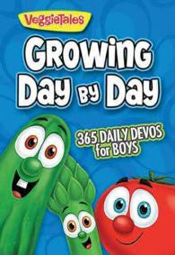 Growing Day by Day: 365 Daily Devos for Boys (VeggieTales)