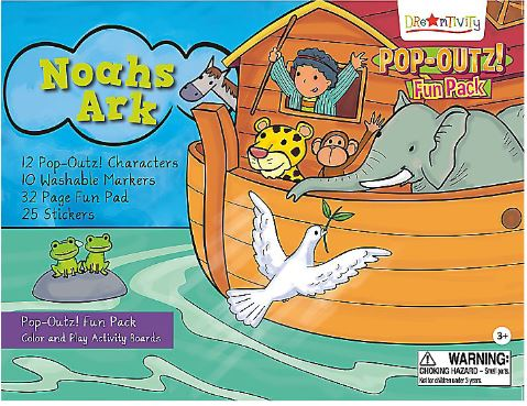 Pop-Outz Fun Pack, Noah's Ark