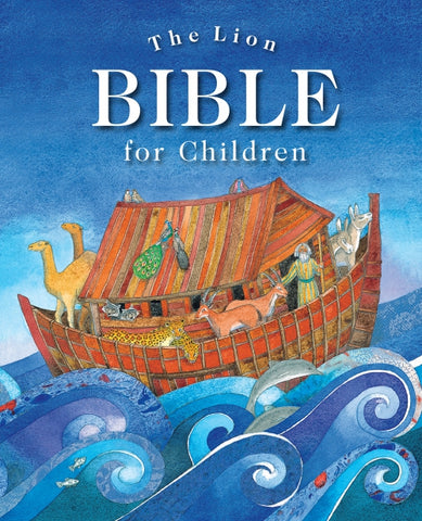 ROCKONLINE | New Creation Church | NCC | Joseph Prince | ROCK Bookshop | ROCK Bookstore | Star Vista | Children | Kids | Preschooler | Bible Story | Christian Living | Bible | The Lion Bible for Children, Hardcover | Free delivery for Singapore Orders above $50.
