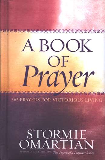 ROCKONLINE | New Creation Church | NCC | Joseph Prince | ROCK Bookshop | ROCK Bookstore | Star Vista | A Book Of Prayers 365 Prayers | Stormie O'Martian | Daily Devotional | Free delivery for Singapore Orders above $50.