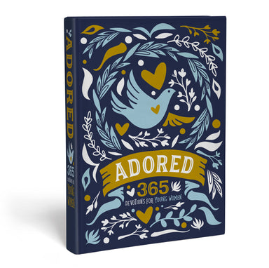 ROCKONLINE | New Creation Church | NCC | Joseph Prince | ROCK Bookshop | ROCK Bookstore | Star Vista | Adored: 365 Devotions for Young Women | Young Women | Hardcover | Devotionals | Free delivery for Singapore Orders above $50.
