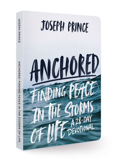 ROCKONLINE | New Creation Church | Joseph Prince | ROCK Bookshop | NCC | Christian Living | Anchored: Finding Peace in the Storms of Life | Free shipping for Singapore orders above $50