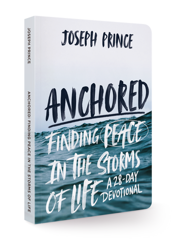 Anchored: Finding Peace in the Storms of Life (A 28-Day Devotional) (Softback)