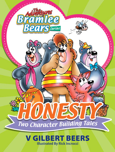 ROCKONLINE | New Creation Church | NCC | Joseph Prince | ROCK Bookshop | ROCK Bookstore | Star Vista | Children | Kids | Preschooler | Bramlee Bears | Honesty | Character Building | Bible Stories | Christian Living | Bible | Adventures Of Bramlee Bears Series – Honesty | Free delivery for Singapore Orders above $50.
