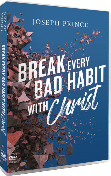 ROCKONLINE | New Creation Church | NCC | Joseph Prince | Break Every Bad Habit With Christ DVD | ROCK Bookshop | ROCK Bookstore | Star Vista | Sermon Teachings | Video |  Free delivery for Singapore Orders above $50.
