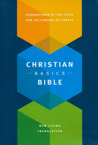 Christian Basics Bible, NLT, Hardcover