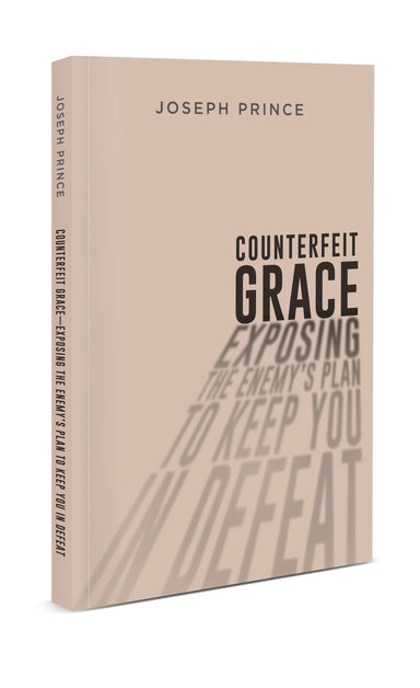 ROCKONLINE | New Creation Church | Joseph Prince | ROCK Bookshop | NCC | Christian Living | Counterfeit Grace—Exposing The Enemy's Plan To Keep You In Defeat | Christian Living | Faith | Christian Growth | Free shipping for Singapore orders above $50