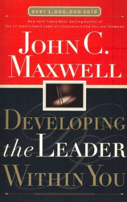 ROCKONLINE | New Creation Church | NCC | Joseph Prince | ROCK Bookshop | ROCK Bookstore | Star Vista | Developing the Leader Within You | John C Maxwell| Free delivery for Singapore Orders above $50.