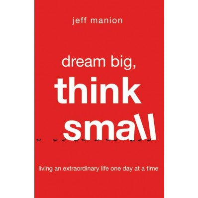 ROCKONLINE | New Creation Church | NCC | Joseph Prince | ROCK Bookshop | ROCK Bookstore | Star Vista | Dream Big, Think Small | Jeff Manion  | Free delivery for Singapore Orders above $50.