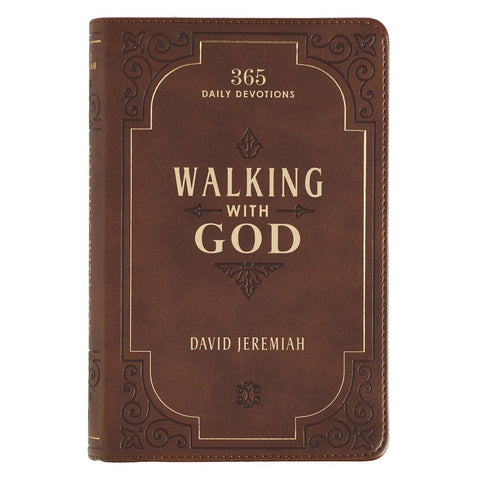 Walking With God Devotional, Luxleather