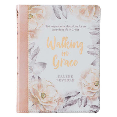 ROCKONLINE | New Creation Church | NCC | Joseph Prince | ROCK Bookshop | ROCK Bookstore | Star Vista | Walking in Grace Devotional, Faux Leather | Devotional | Dalene Reyburn | Christian Living | Quiet-time | Bible | Christian Women | Free delivery for Singapore Orders above $50.