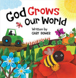 ROCKONLINE | New Creation Church | NCC | Joseph Prince | ROCK Bookshop | ROCK Bookstore | Star Vista | Children | Kids | Toddler | Preschooler | Scripture | Creation | Colors | Boardbook | God Grows Our World Boardbook | Free delivery for Singapore Orders above $50.