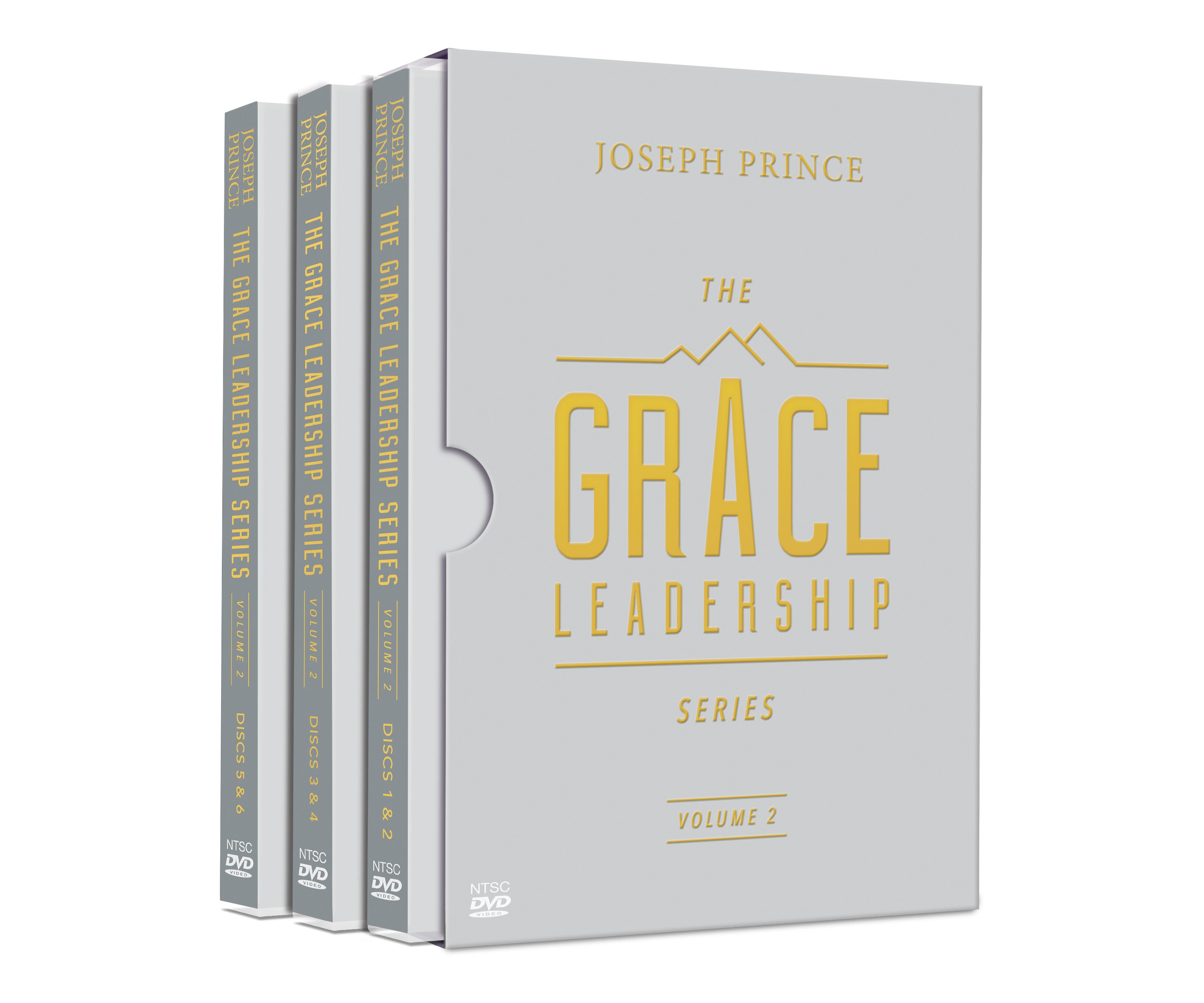 ROCKONLINE | New Creation Church | NCC | DVD Sermon  | Joseph Prince | The Grace Leadership Series Volume 2 | Rock Bookshop | Rock Bookstore | Star Vista | Free delivery for Singapore orders above $50.