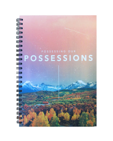 ROCKONLINE | New Creation Church | Joseph Prince | Possessing Our Possessions | POP | A5 Notebook | Journal | Small Gifts | Rock Bookshop | Rock Bookstore | Star Vista | Free Delivery for Singapore Orders above $50.