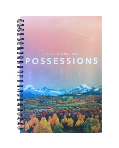 Possessing Our Possessions Merchandise - Notebook (lined)