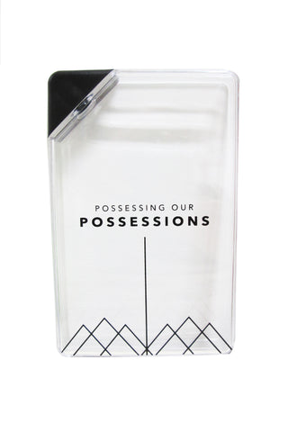 Possessing Our Possessions Merchandize - Flat Water Bottle 330ml