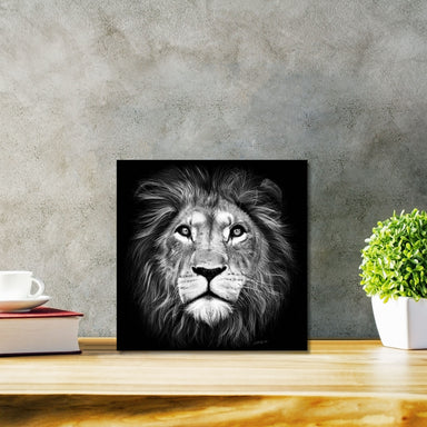 ROCKONLINE | New Creation Church | Joseph Prince | Star Vista | Rock Bookshop | Rock Bookstore | Art of Faith | Christian Creative | Christian Art | DIASEC™ Print | Hand-drawn Art | Fine Art | Patrick Bezalel | Lion of Judah Hyperrealism Diasec Print | Free delivery for Singapore Orders above $50.