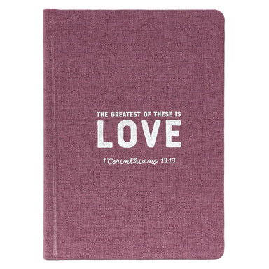 ROCKONLINE | New Creation Church | Joseph Prince | Notebooks | Journals | Journaling | Scriptures | Grace | Faith | Hope | Love | Hardcover Linen Journal | Writing Materials | Christian Art Gifts | Rock Bookshop | Rock Bookstore | Star Vista | Free Delivery for Singapore Orders above $50.