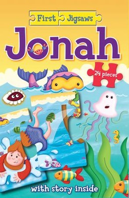 ROCKONLINE | New Creation Church | NCC | Joseph Prince | ROCK Bookshop | ROCK Bookstore | Star Vista | Children | Kids | Preschooler | Bible Stories | Puzzle | Jig Saw Puzzle | Scripture | Bible | First Jigsaws Jonah | Free delivery for Singapore Orders above $50.