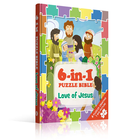 6-in-1 Puzzle Bibles, Love Of Jesus
